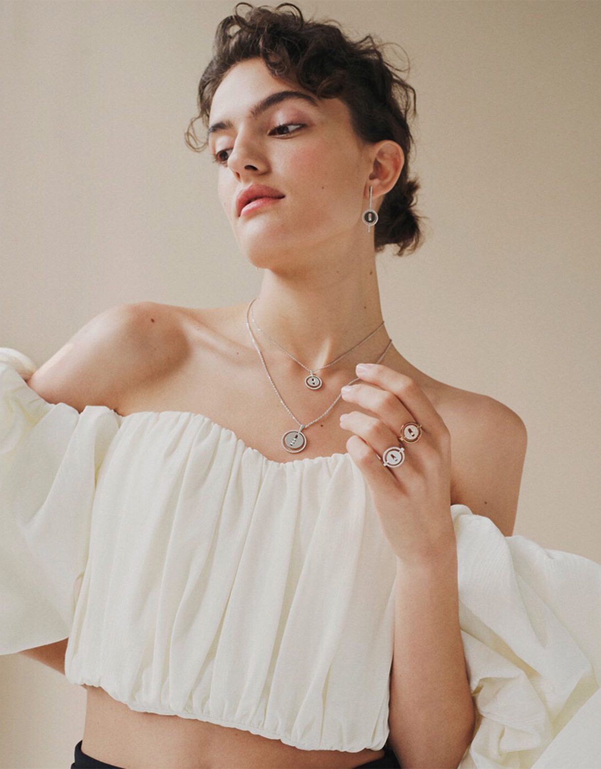 Campaign Mariona For Messika Jewelry X Net A Porter Fifth Models